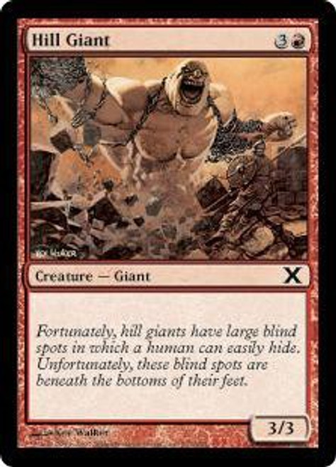 MtG 10th Edition Common Hill Giant #212