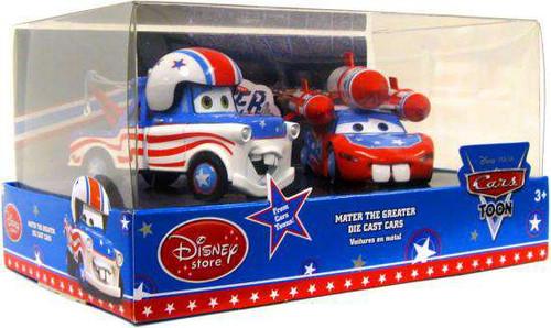 Disney / Pixar Cars Cars Toon 1:43 Multi-Packs Mater The Greater Exclusive Diecast Car Set