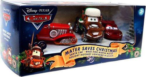 Disney / Pixar Cars Multi-Packs Mater Saves Christmas Exclusive Diecast Car Set