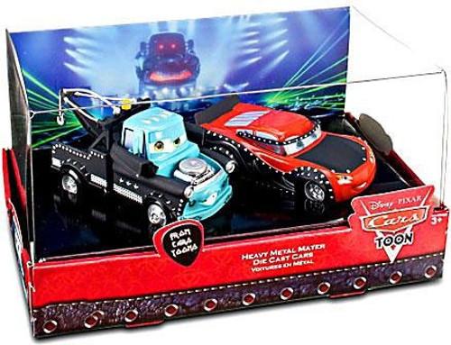 Disney / Pixar Cars Cars Toon 1:43 Multi-Packs Heavy Metal Mater Exclusive Diecast Car Set