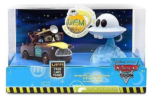 Disney / Pixar Cars Cars Toon 1:43 Multi-Packs Unidentified Flying Mater Exclusive Diecast Car