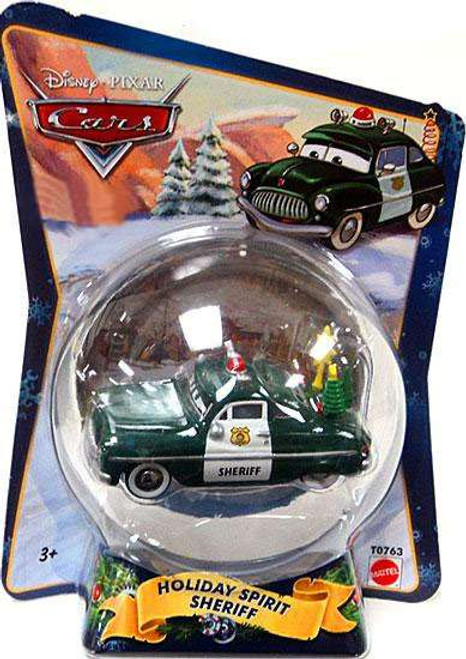 Disney / Pixar Cars Christmas Package Holiday Spirit Sheriff Exclusive Diecast Car [2010]