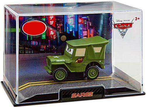 Disney / Pixar Cars Cars 2 1:43 Collectors Case Sarge Exclusive Diecast Car