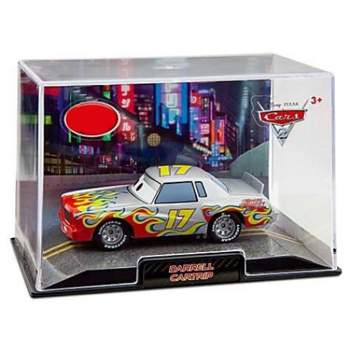 Disney / Pixar Cars Cars 2 1:43 Collectors Case Darrell Cartrip Exclusive Diecast Car