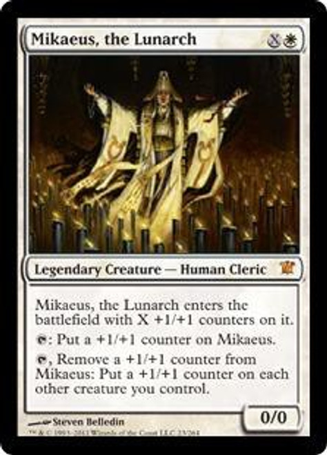 MtG Innistrad Mythic Rare Mikaeus, the Lunarch #23