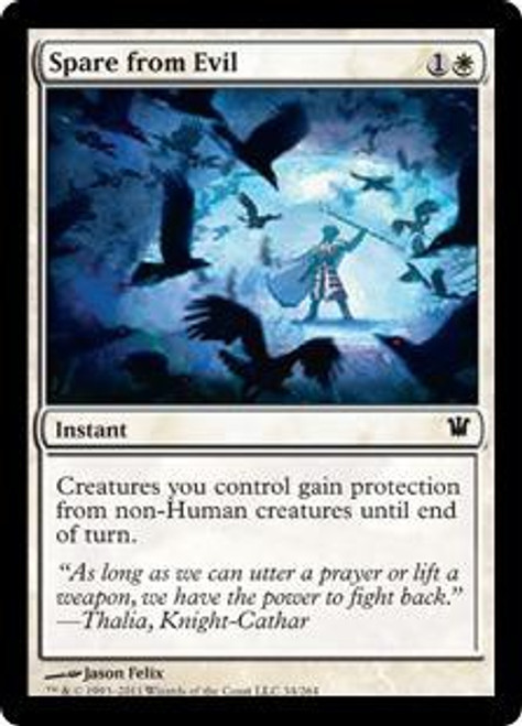 MtG Innistrad Common Spare from Evil #34