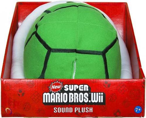 New Super Mario Bros Wii Green Koopa Shell Plush