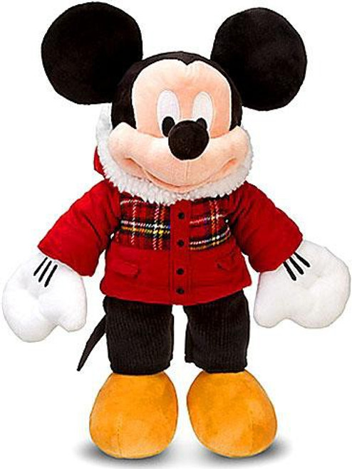 Disney 2011 Holiday Mickey Mouse Exclusive 18-Inch Plush [Plaid]