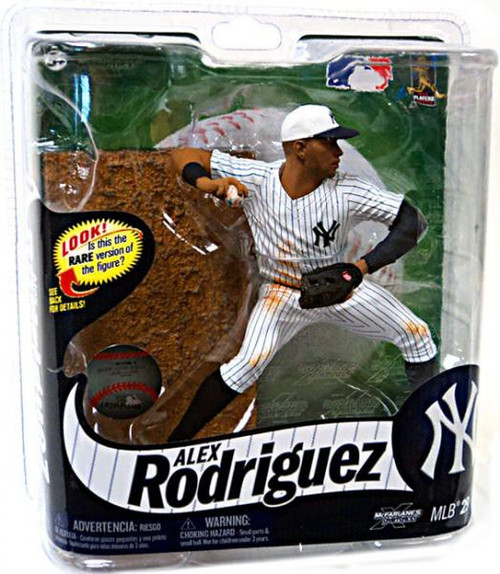 McFarlane Toys MLB New York Yankees Sports Picks Series 29 Alex Rodriguez Action Figure [July 4th White Hat]