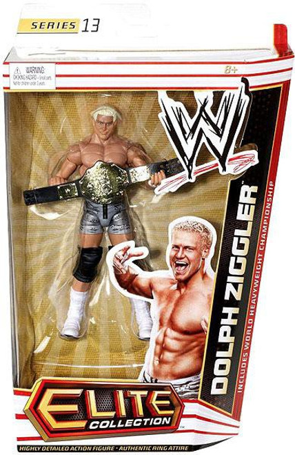 WWE Wrestling Elite Collection Series 13 Dolph Ziggler Action Figure [World Heavyweight Championship]