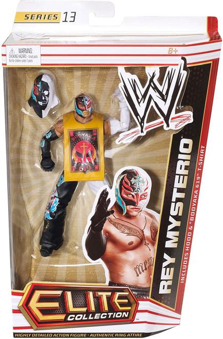 WWE Wrestling Elite Collection Series 13 Rey Mysterio Action Figure [Hood & Booyaka 619 T-Shirt]