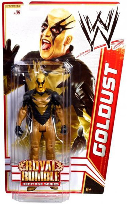 WWE Wrestling Series 14 Goldust Action Figure #9