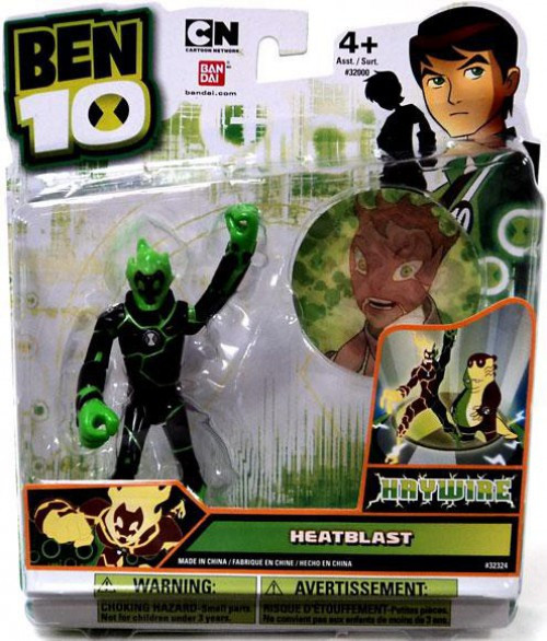 Ben 10 Ultimate Alien Heatblast Action Figure [Haywire]