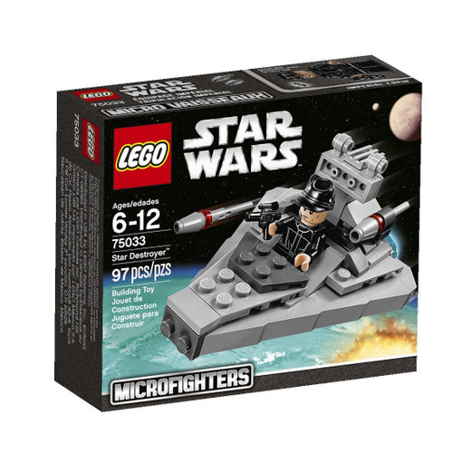 LEGO Star Wars A New Hope Microfighters Star Destroyer Set #75033
