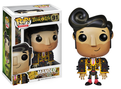 Funko The Book of Life POP! Movies Manolo Vinyl Figure #91