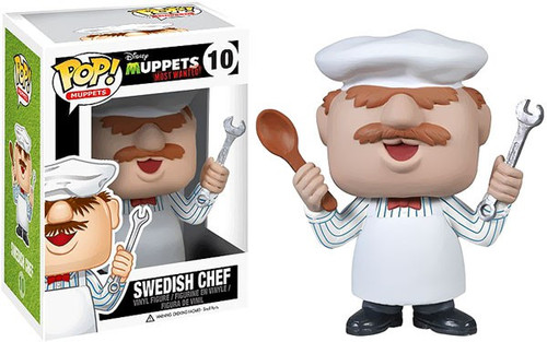 Funko The Muppets Muppets Most Wanted POP! TV Swedish Chef Vinyl Figure #10