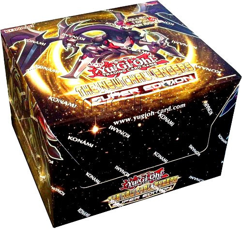 YuGiOh Trading Card Game The New Challengers Super Edition DISPLAY Box [10 Units]