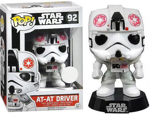 Funko POP! Star Wars AT-AT Driver Exclusive Vinyl Bobble Head #92