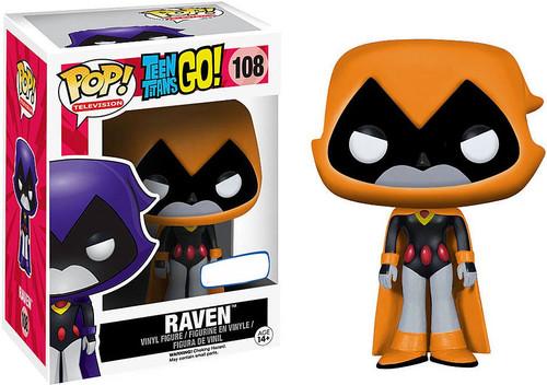 Funko Teen Titans Go! POP! TV Raven Exclusive Vinyl Figure #108 [Orange]