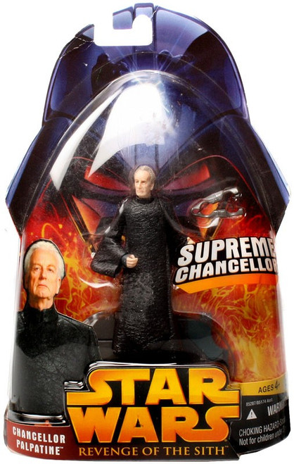 Star Wars Revenge of the Sith 2005 Chancellor Palpatine Action Figure #14