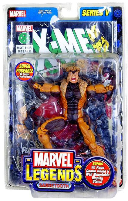 Marvel Legends Series 5 Sabretooth Action Figure