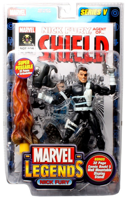 Marvel Legends Series 5 Nick Fury Action Figure