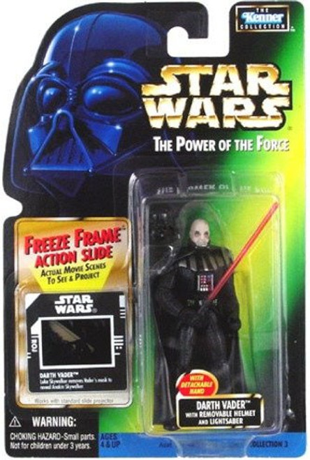 Star Wars Return of the Jedi Power of the Force POTF2 Kenner Collection Darth Vader Action Figure [Removable Helmet]