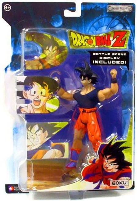 Dragon Ball Z Series 18 Goku Action Figure [With Fabric Shirt]