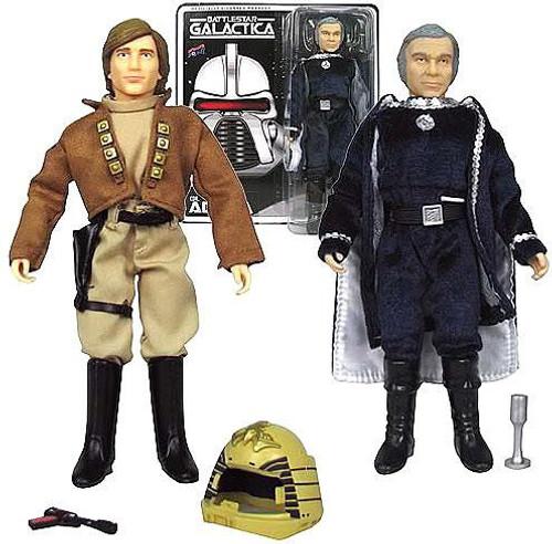 Battlestar Galactica Lt. Starbuck & Commander Adama Action Figures
