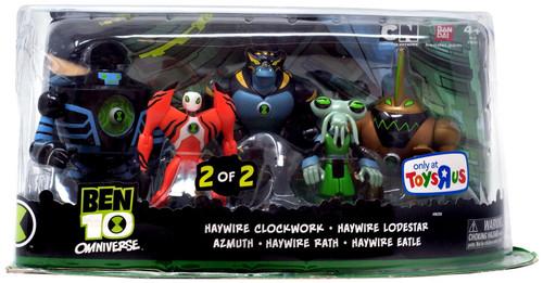 Ben 10 Omniverse Haywire Exclusive Action Figure 5-Pack #2
