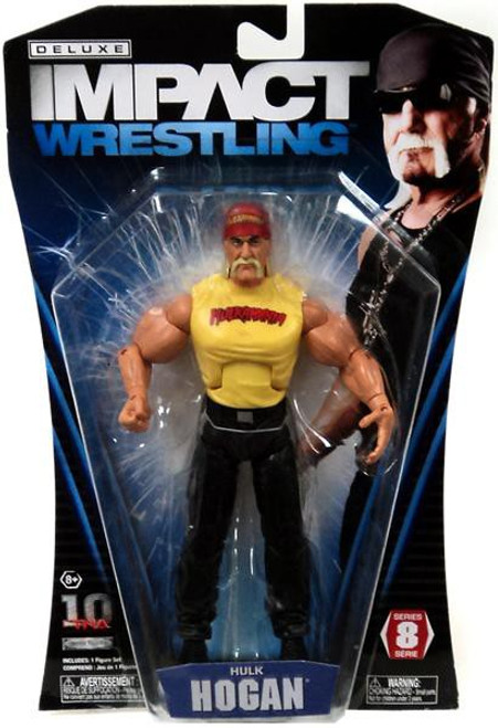 TNA Wrestling Deluxe Impact Series 8 Hulk Hogan Action Figure