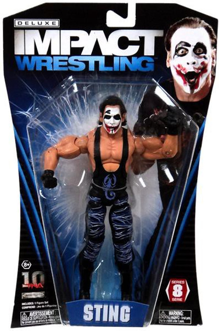 TNA Wrestling Deluxe Impact Series 8 Joker Sting Action Figure
