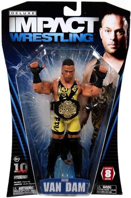 TNA Wrestling Deluxe Impact Series 8 Rob Van Dam Action Figure