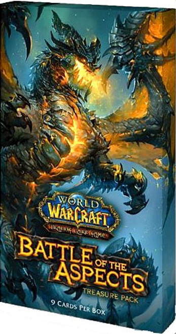 World of Warcraft Trading Card Game Battle of Aspects Treasure Pack