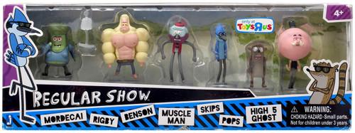 Cartoon Network Regular Show 2-Inch Mini Figure 6-Pack