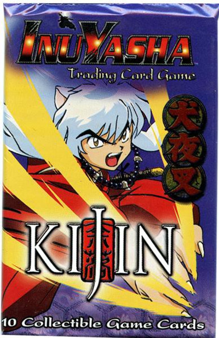 InuYasha Trading Card Game Kijin Booster Pack [10 Cards]