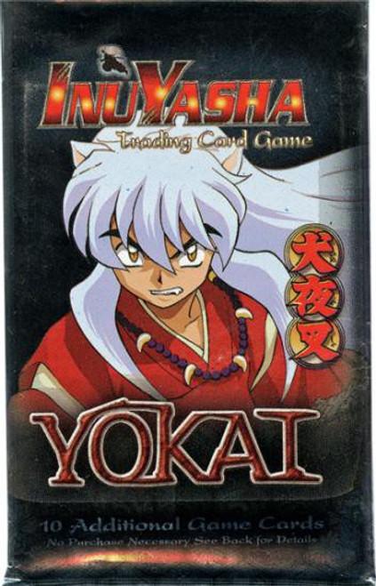 InuYasha Trading Card Game Yokai Booster Pack [10 Cards]