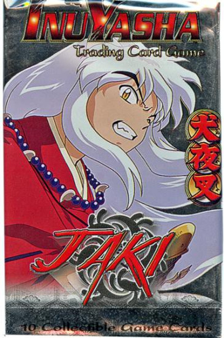 InuYasha Trading Card Game Jaki Booster Pack [10 Cards]