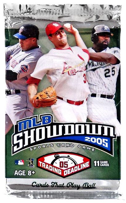 MLB Showdown Sports Card Game 2005 Trading Deadline Booster Pack [11 Cards!]