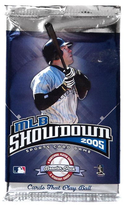 MLB Showdown Sports Card Game 2005 Booster Pack [11 Cards]