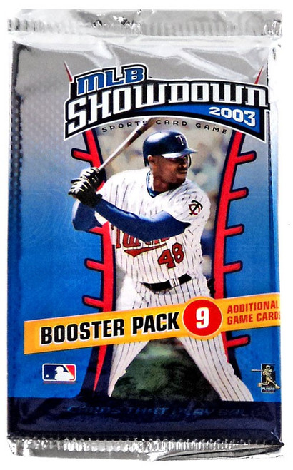 MLB Showdown Sports Card Game 2003 Booster Pack [9 Cards!]