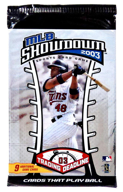 MLB Showdown Sports Card Game 2003 Trading Deadline Booster Pack [9 Cards!]