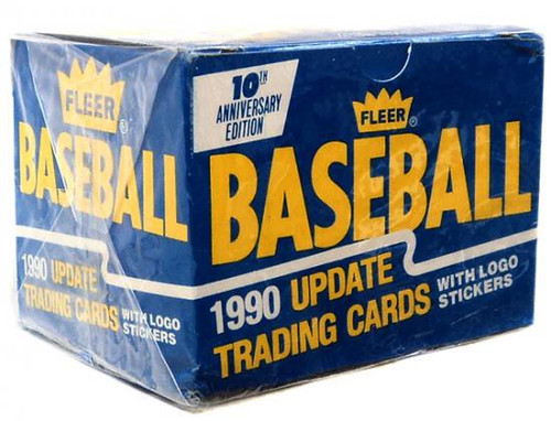 MLB 1990 Update Baseball Cards Complete Set [Factory Sealed]