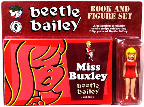 Beetle Bailey Miss Buxley Book & Figure Set