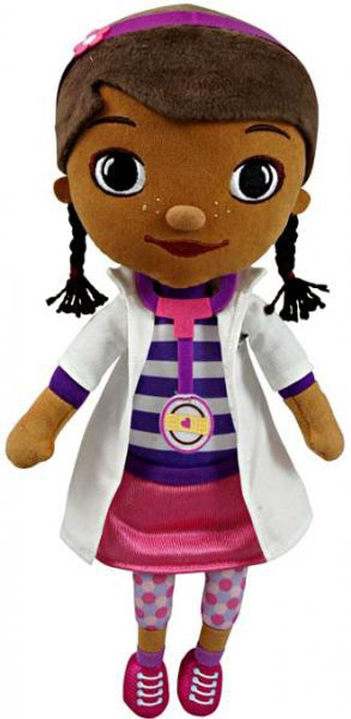 Disney Doc McStuffins 12-Inch Plush Figure [Button Nose]
