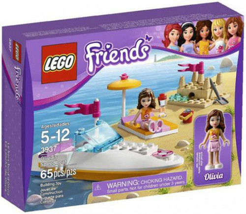 LEGO Friends Olivia's Speedboat Set #3937