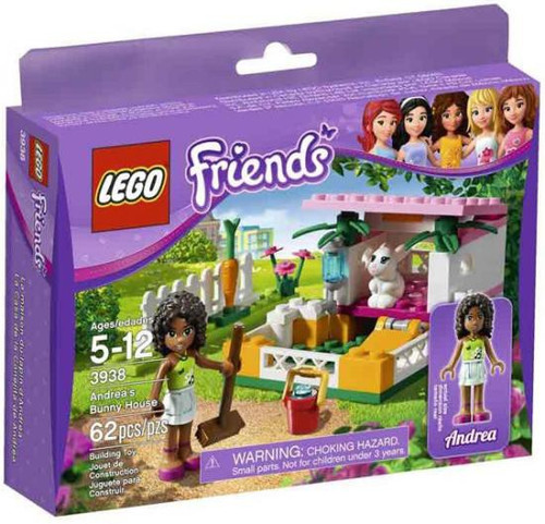LEGO Friends Andrea's Bunny House Set #3938