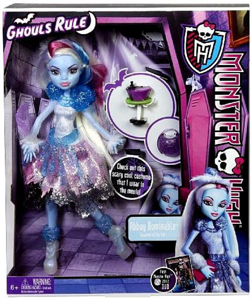 Monster High Ghouls Rule Abbey Bominable Exclusive 10.5-Inch Doll