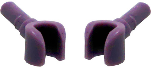 LEGO Pair of Sand Purple Hands [Loose]