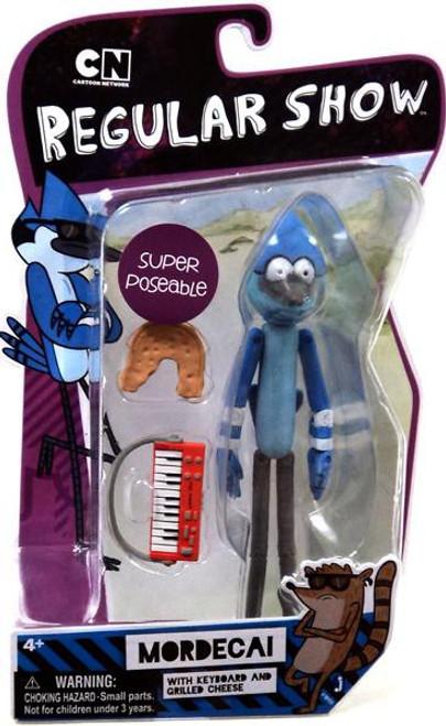 Cartoon Network Regular Show Super Poseable Mordecai Action Figure